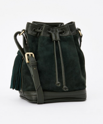Sonage-Skincare-Blog-Four-Fall-Fashion-Trends-Ann-Taylor-Mini-Suede-Bucket-Bag-Spruce-Green-Planning
