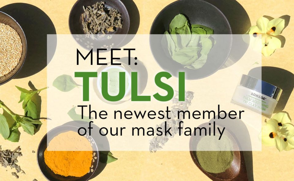 INTRODUCING: TULSI SOOTHING TRI CLAY MASK